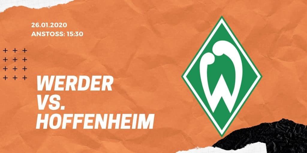 SV Werder Bremen – TSG Hoffenheim Tipp 26.01.2020 Bundesliga