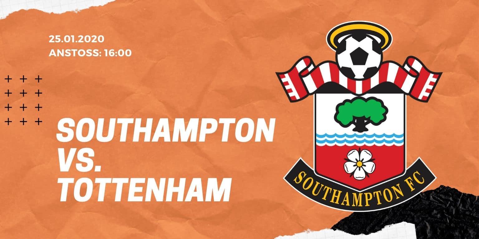 FC Southampton - Tottenham Hotspur 25.01.2020 FA Cup