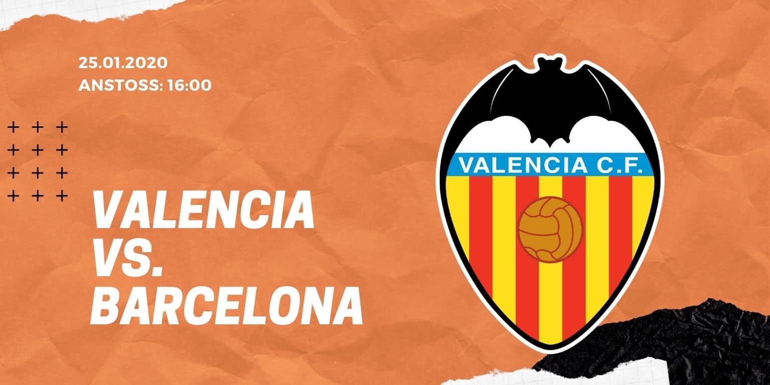 FC Valencia - FC Barcelona 25.01.2020 La Liga
