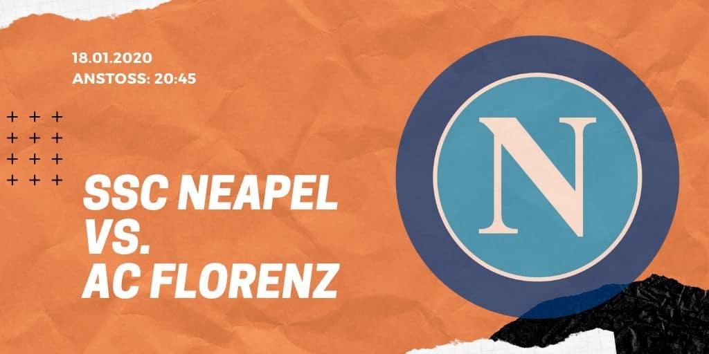 SSC Neapel - AC Florenz 18.01.2020 Serie A