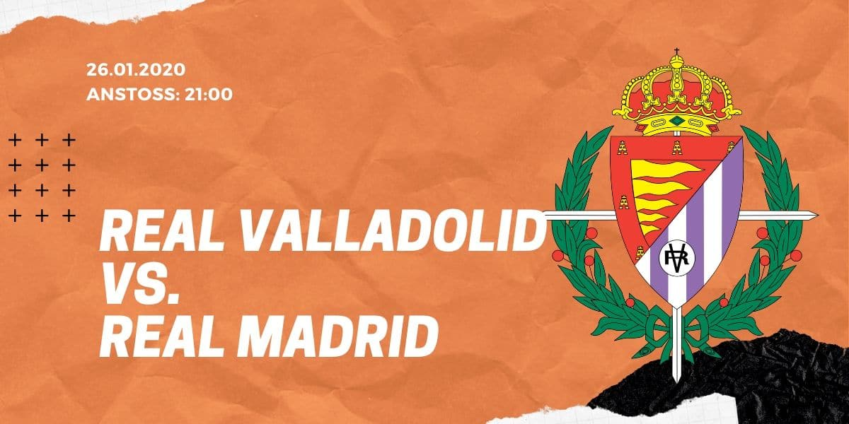 Real Valladolid - Real Madrid 26.01.2020 La Liga