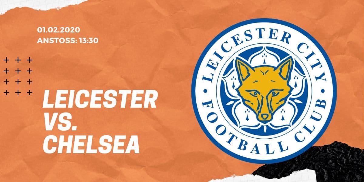 Leicester City - FC Chelsea 01.02.2020 Premier League