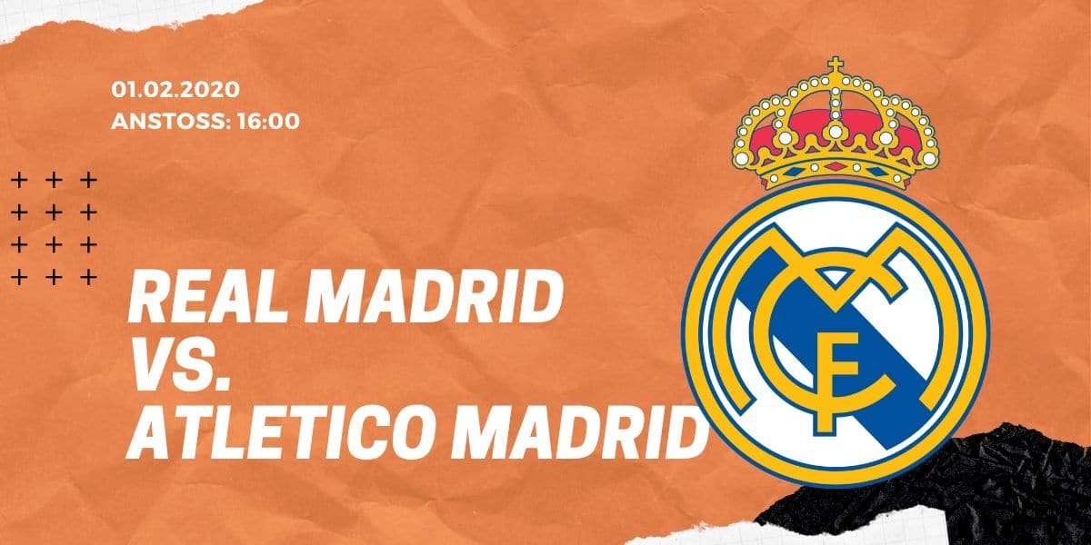 Real Madrid - Atletico Madrid 01.02.2020 La Liga