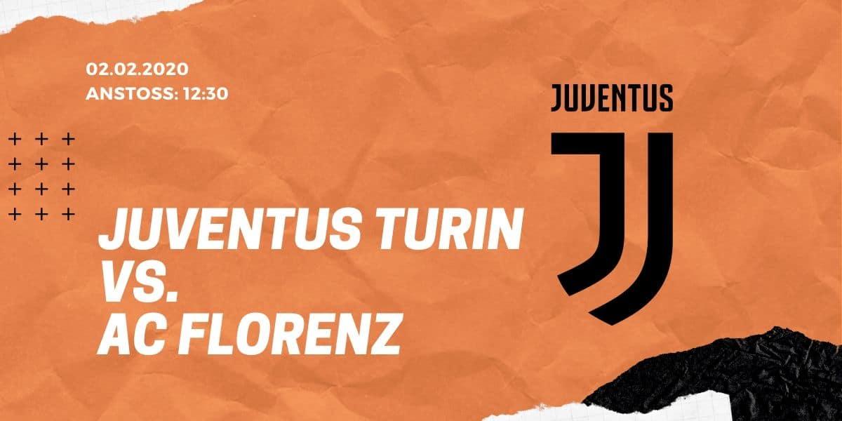Juventus Turin - AC Florenz 02.02.2020 Serie A