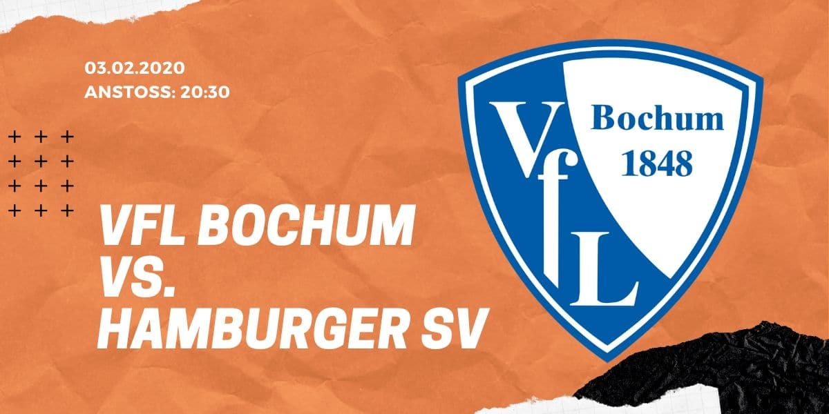 VfL Bochum - Hamburger SV Tipp 03.02.2020 2. Bundesliga