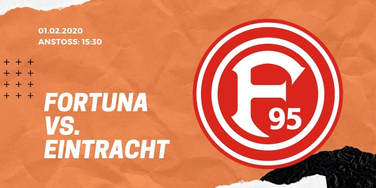 Fortuna Düsseldorf – Eintracht Frankfurt Tipp 01.02.2020 Bundesliga