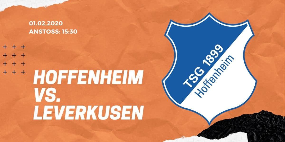 TSG Hoffenheim – Bayer 04 Leverkusen Tipp 01.02.2020 Bundesliga