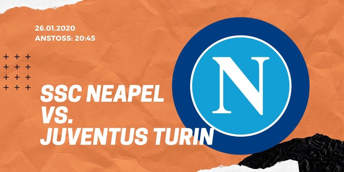 SSC Neapel - Juventus Turin 26.01.2020 Serie A