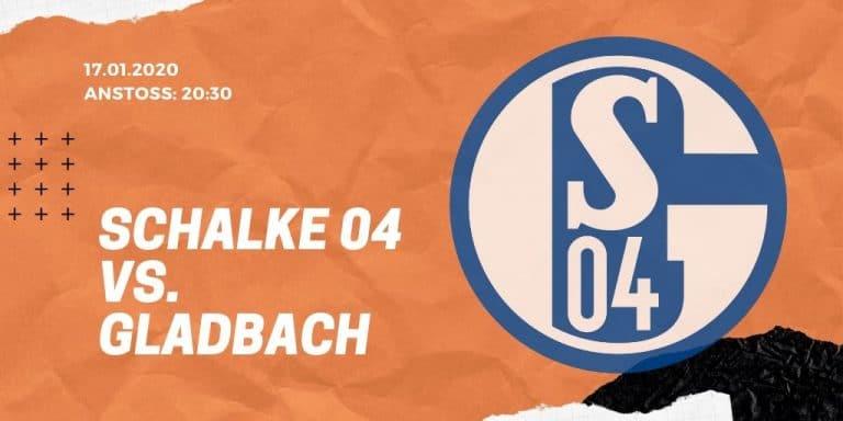 FC Schalke 04 - Borussia Mönchengladbach 17.01.2020 Bundesliga
