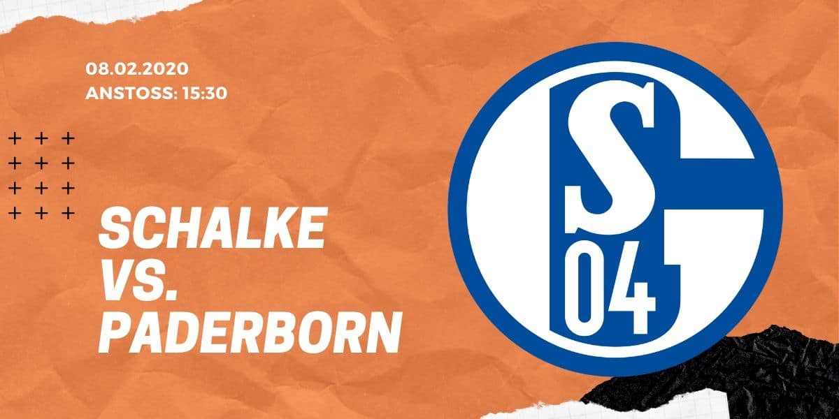 FC Schalke 04 - SC Paderborn 07 Tipp 08.02.20 Bundesliga