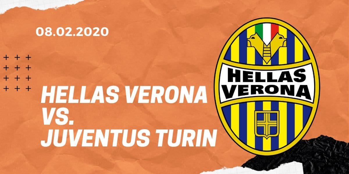 Hellas Verona - Juventus Turin Tipp 08.02.2020 Serie A