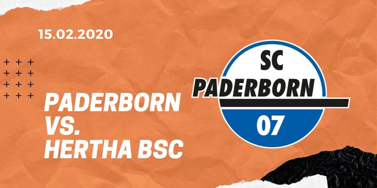 SC Paderborn – Hertha BSC Berlin Tipp 15.02.2020 Bundesliga