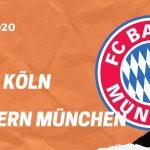 1.FC Köln - Bayern München Tipp 16.02.20 Bundesliga