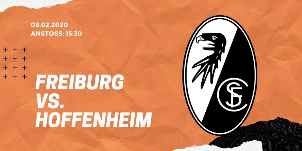 SC Freiburg - TSG Hoffenheim Tipp 08.02.20 Bundesliga