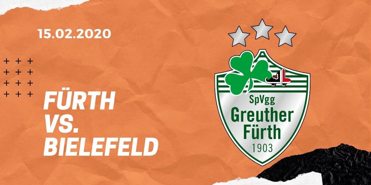 SpVgg Greuther Fürth - Arminia Bielefeld Tipp 15.02.2020 2. Bundesliga