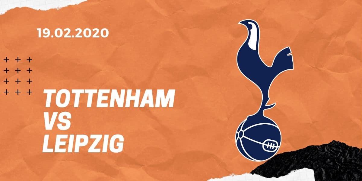 Tottenham Hotspur - RB Leipzig Tipp 19.02.2020 Champions League