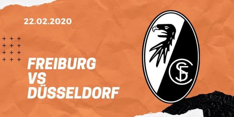 SC Freiburg – Fortuna Düsseldorf Tipp 22.02.2020 Bundesliga