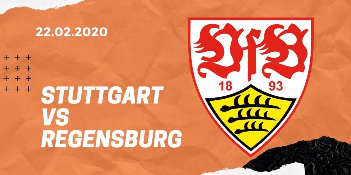 VfB Stuttgart - SSV Jahn Regensburg Tipp 22.02.2020 - 2. Bundesliga