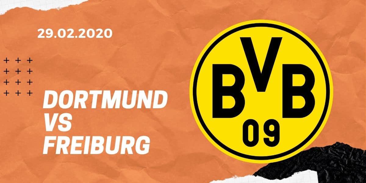 Borussia Dortmund – SC Freiburg Tipp 29.02.20 Bundesliga