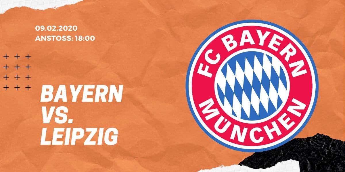 FC Bayern – RB Leipzig Tipp 09.02.20 Bundesliga