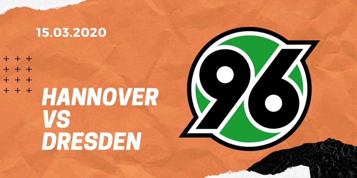 Hannover 96 - Dynamo Dresden Tipp 15.03.2020 - 2. Bundesliga