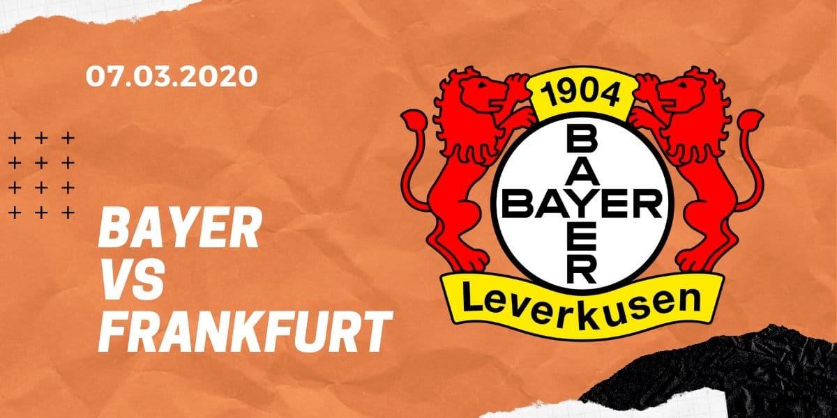 Bayer 04 Leverkusen – Eintracht Frankfurt Tipp 07.03.2020 Bundesliga