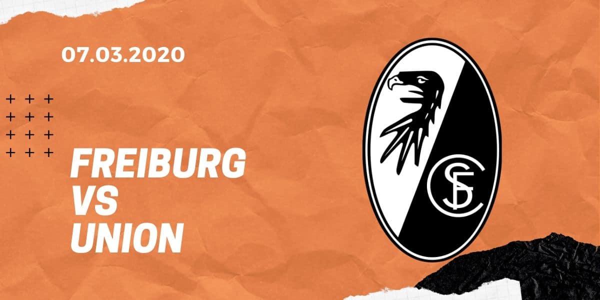 SC Freiburg – 1. FC Union Berlin Tipp 07.03.2020 Bundesliga