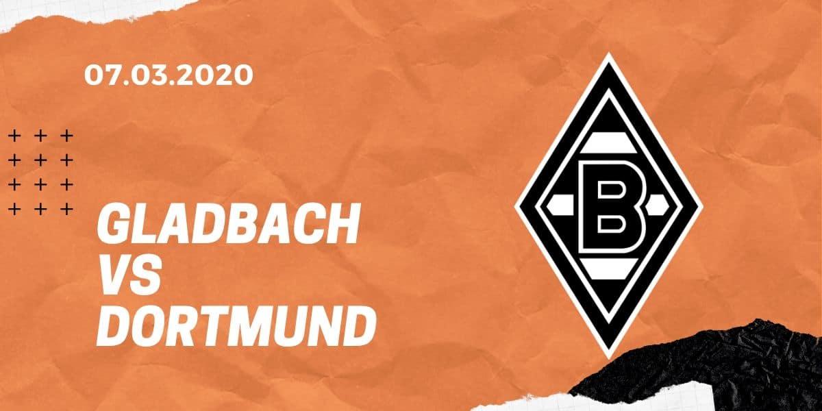 Borussia Mönchengladbach – Borussia Dortmund Tipp 07.03.2020 Bundesliga