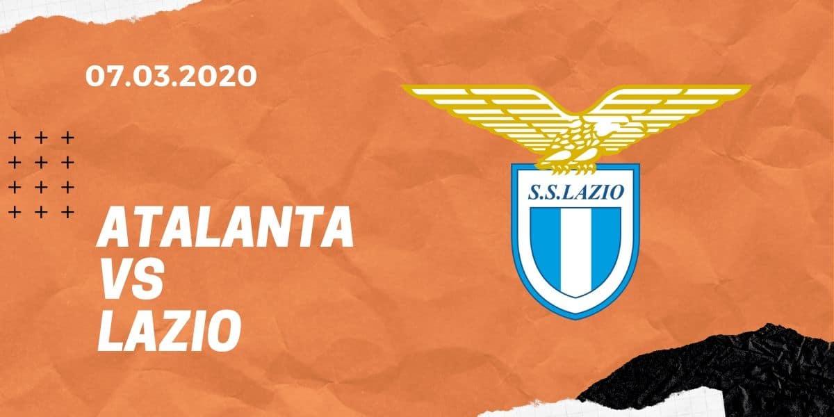 Atalanta Bergamo - Lazio Rom Tipp 07.03.2020 Serie A