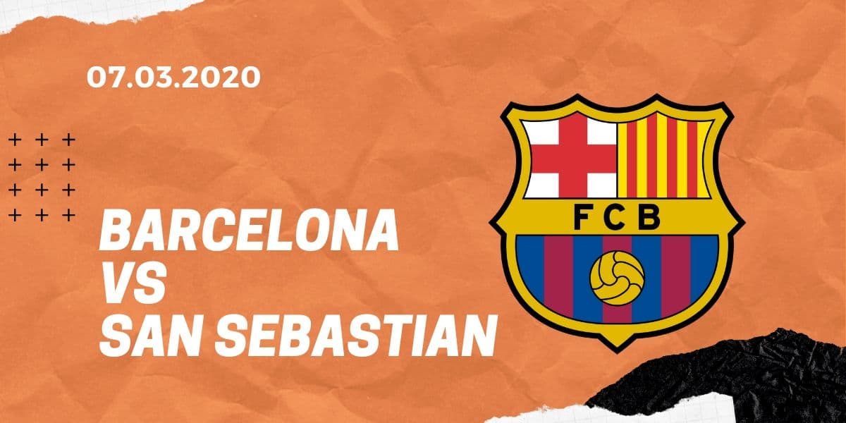 FC Barcelona - Real Sociedad San Sebastian Tipp 07.03.2020 La Liga