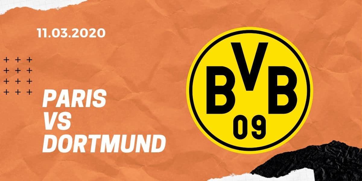 Paris St. Germain - Borussia Dortmund Tipp 11.03.2020 Champions League