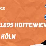 TSG 1899 Hoffenheim – 1. FC Köln