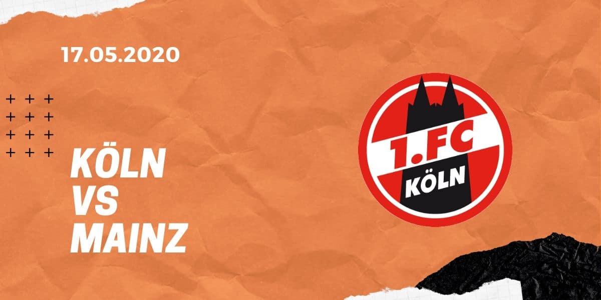 1.FC Köln – 1. FSV Mainz 05