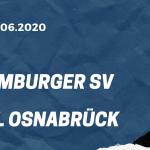 Hamburger SV - VfL Osnabrück Tipp 16.06.2020
