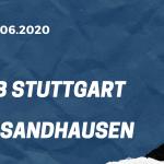 VfB Stuttgart - SV Sandhausen Tipp 17.06.2020
