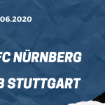 1. FC Nürnberg - VfB Stuttgart Tipp 21.06.2020