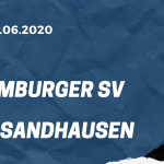 Hamburger SV - SV Sandhausen Tipp 28.06.2020