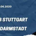 VfB Stuttgart - SV Darmstadt 98 Tipp 28.06.2020
