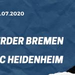 SV Werder Bremen – 1. FC Heidenheim Relegation 02.07.2020