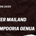 Inter Mailand - Sampdoria Genua Tipp 21.06.2020