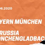 FC Bayern München – Borussia Mönchengladbach Tipp 13.06.2020