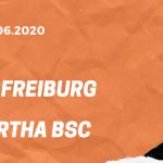 SC Freiburg – Hertha BSC Tipp 16.06.2020