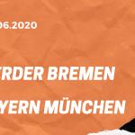 SV Werder Bremen – FC Bayern München Tipp 16.06.2020