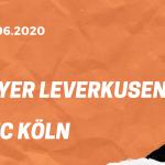 Bayer 04 Leverkusen – 1. FC Köln Tipp 17.06.2020