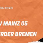 FSV Mainz 05 – SV Werder Bremen Tipp 21.06.2020