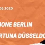 1.FC Union Berlin – Fortuna Düsseldorf Tipp 27.06.2020