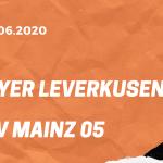 Bayer 04 Leverkusen – FSV Mainz 05 Tipp 27.06.2020