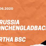 Borussia Mönchengladbach – Hertha BSC Tipp 27.06.2020