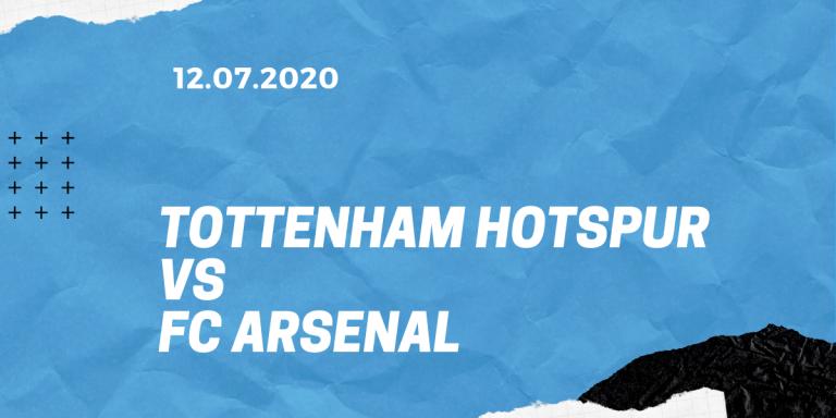 Tottenham Hotspur - FC Arsenal Tipp 12.07.2020