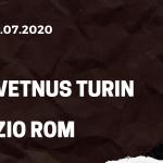 Juventus Turin - Lazio Rom Tipp 20.07.2020